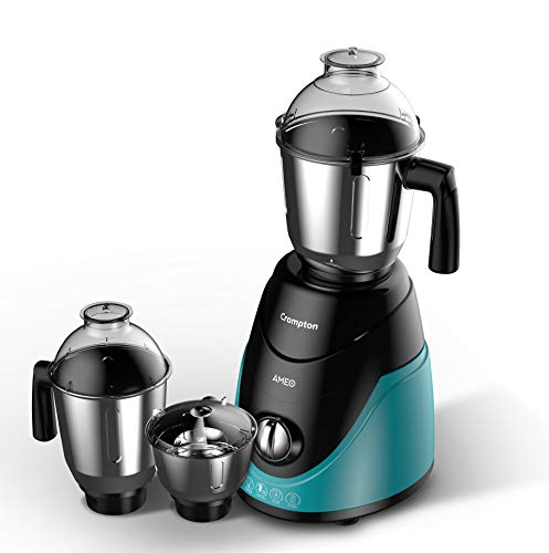 Crompton Ameo 750-Watt Mixer Grinder with 3 Jars