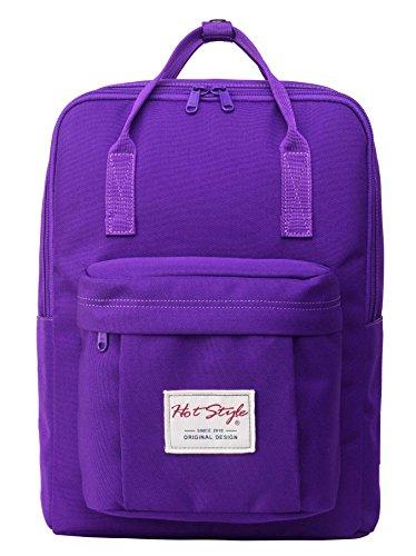 hotstyle amy womens canvas top zip tote bag laptop handbag. Black Bedroom Furniture Sets. Home Design Ideas
