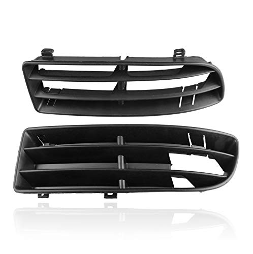Heart Horse Front Lower Insert Vent Grille Grill for Volkswagen VW Jetta Bora Mk4 1999-2004 1J5 853 666 C 1J5 853 665(Left & Right)