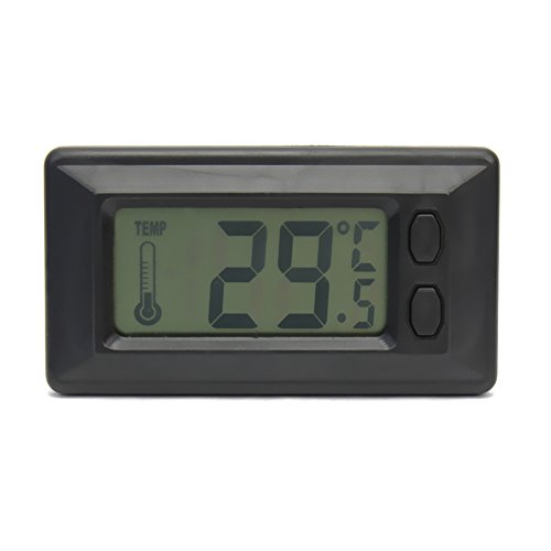 useful lcd screen display home room indoor digital wall temperature thermometer weather. Black Bedroom Furniture Sets. Home Design Ideas