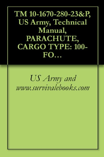 TM 10-1670-280-23&P, US Army, Technical Manual, PARACHUTE, CARGO TYPE: 100-FOOT DIAMETER, MODEL G-11B, G-11C, AND G-11D, NSN 1670-01-016-7841, 2002