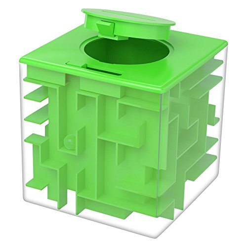 Twister.CK Money Maze Puzzle Box, Maze Puzzles for Money, Fun Birthday Christmas Gift Ideas for Kids and Adult