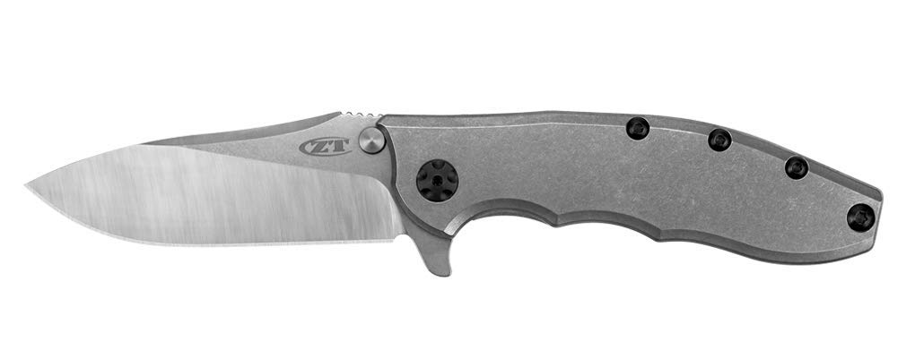 Zero Tolerance 0532TI Hinderer Frame Lock Folding Knife