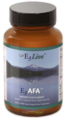E3Live - E3 AFA Blue-Green Algae - 400 mg - 60 Capsules by E3Live