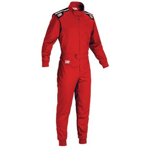 OMP Summer-K Kart Suit KK01719061M (Size: Medium, Red) ()