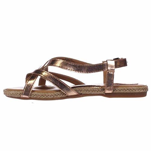 B.O.C. Born Concept Avram Flat Comfrot Sandals - Gold Metallic Gold Metallic ngf7Nsn