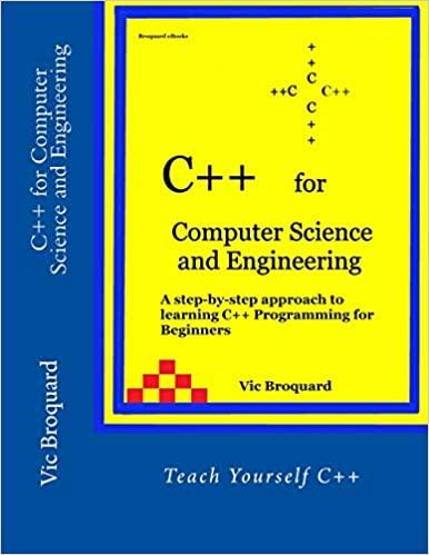 Amazon com: C++ for Computer Science and Engineering
