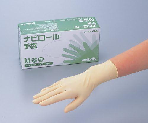 ナビロール手袋 L 100枚入り / 0-3593-21
