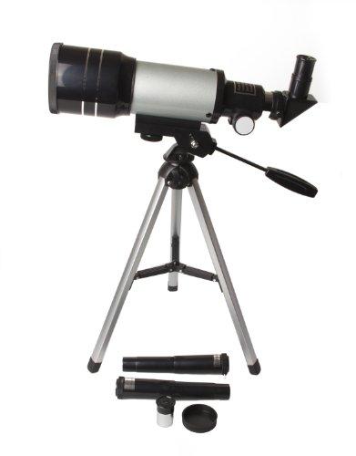 Fovitec StudioPRO 70mm Refracting Telescope (300mm) Celestral Kid Friendly Science Kit by Fovitec