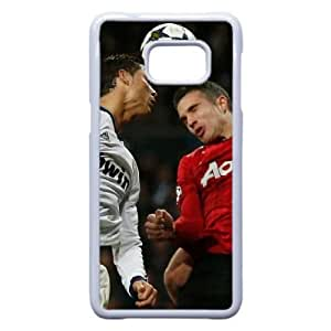 Personalized Durable Cases Samsung Galaxy S6 Edge Plus Cell Phone Case White Cristiano Ronaldo Jbqbt Protection Cover