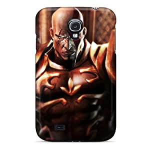 Anti-scratch And Shatterproof Kratos God Of War Phone Case For Galaxy S4/ High Quality Tpu Case