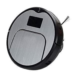WISEERP Nuevo Robot Aspirador, Mojado y seco, Control Remoto ...