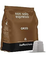 Il Caffè Italiano - 50 Capsule Orzo - Compatibili con Macchine da caffè Nespresso - Frhome