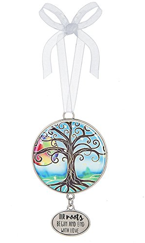 (Tree of Life Our Roots Being and End With Love 3 Inch Hanging Ornament)