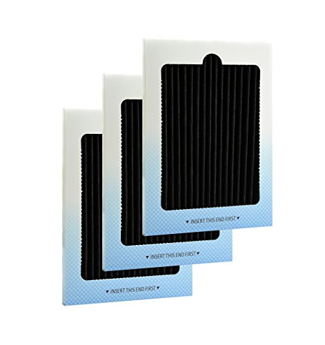Pure Life Filter Refrigerator Air Filter Fits Pure Air Ultra PAULTRA Frigidaire EAFCBF - 3 Pack