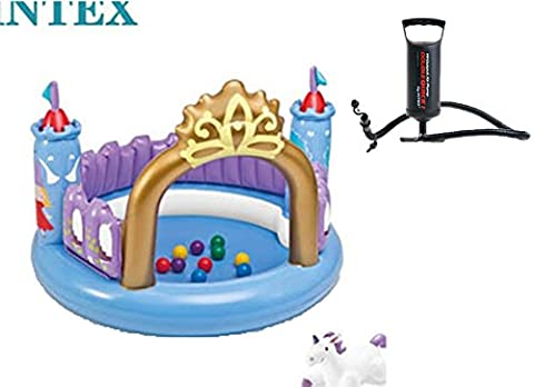 Inflatable Baby Swimming Pool Castle Baby Pool 130cmx91cm /51.22