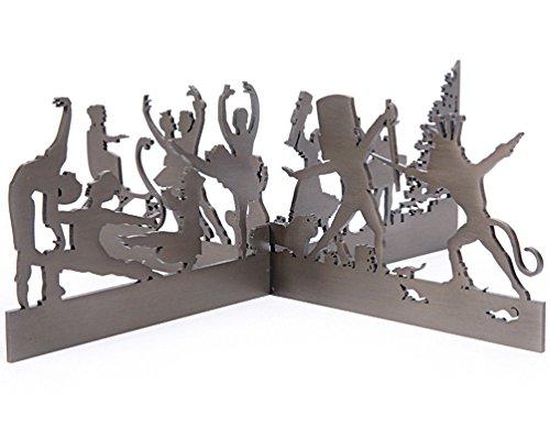 Nutckacker Suite Ballet Scene by Valerie Atkisson, Oiled Bronze by Valerie Atkisson