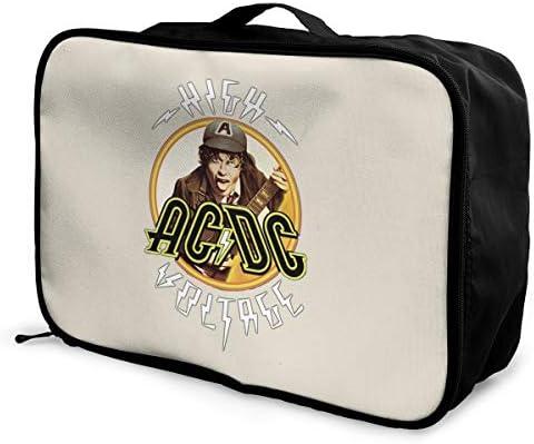 アレンジケース ACDC エーシーディーシー 旅行用トロリーバッグ 旅行用サブバッグ 軽量 ポータブル荷物バッグ 衣類収納ケース キャリーオンバッグ 旅行圧縮バッグ キャリーケース 固定 出張パッキング 大容量 トラベルバッグ ボストンバッグ
