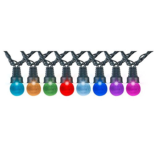 APPLights 24-Light G30 Multi-Color Light String Clear Cover Set by APPLights