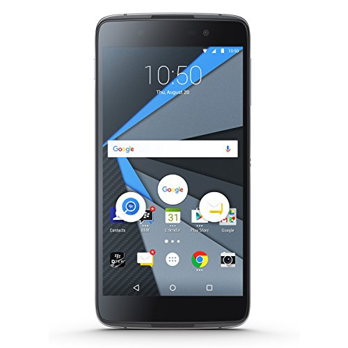 BlackBerry STH100-1 DTEK 50 Unlocked GSM Smartphone w/ 13MP Camera - Black ()