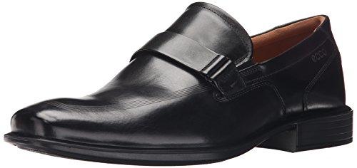 ECCO Men's Cairo Apron Toe Slip-On, Black, 44 EU/10-10.5 M ()