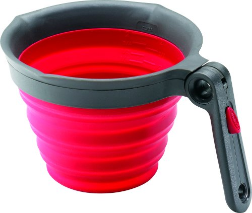 Chef'n SleekStor Collapsible 2-Cup Measuring Cup, - Collapsible Chefn
