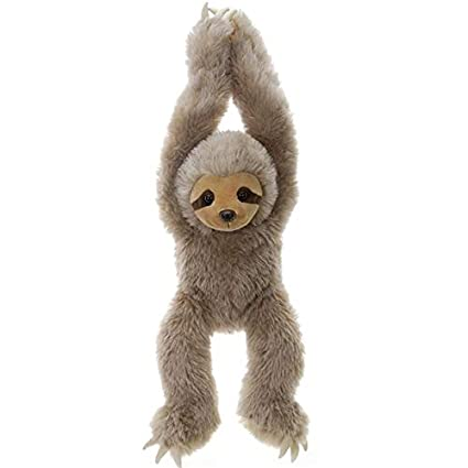 Amazon Com Fiesta Toys Sloth Stuffed Animal 20 F4368b476 Toys