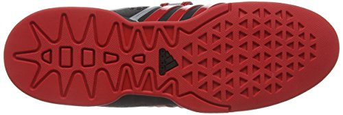Mixte litht Adipower Indoor Chaussures black Black Adidas Multisport Adulte Scarlet qf8Inw