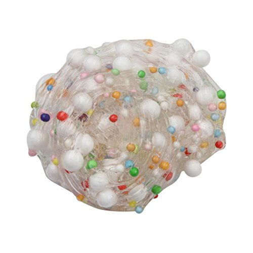 inkachふわふわSlime–Kids Foam Ball Muds Slime Stress ReliefおもちゃカラフルMixing Clayギフト One Size マルチカラー HM-1