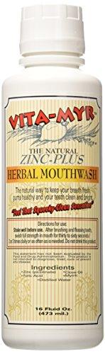 VITA MYR Effective Zinc Plus Natural Mouthwash product image
