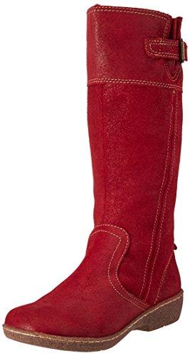 Botas Mujer Andrea 2386942 para Rojo 1FqYw5Xw