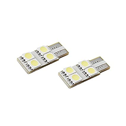 Unipower TMT LEDS(TM) 2 X BOMBILLAS LED CANBUS T10 W5W 4 LEDS UNA