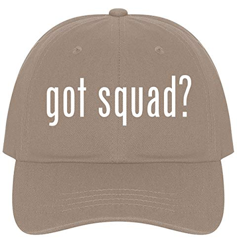 (The Town Butler got Squad? - A Nice Comfortable Adjustable Dad Hat Cap, Khaki )