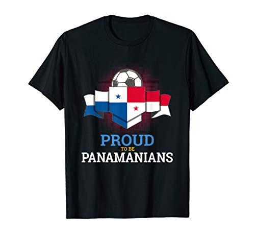 (Panama World Soccer Team Flag T Shirt)