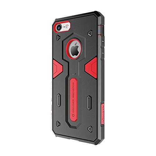 NILLKIN II Defender Coque pour Apple iPhone 7–Rouge
