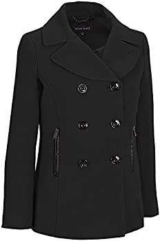 Wilsons Leather Womens Wool-Blend Peacoat
