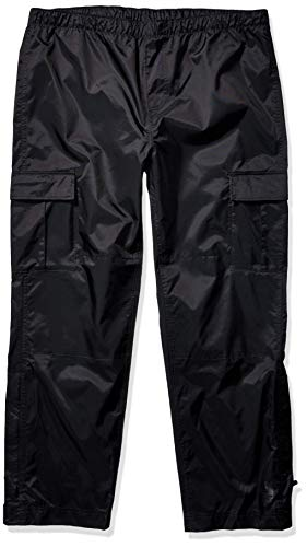Carhartt Men's Dry Harbor Pant (Regular and Big & Tall Sizes), Black, Medium