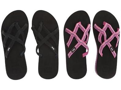 51c4ef0b7d4c Teva(テバ) レディース 女性用 シューズ 靴 サンダル Olowahu 2-Pack - Mbob