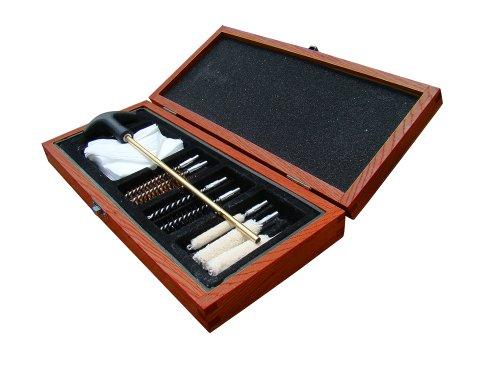 UTG Deluxe Pistol Cleaning Kit in Wooden Case from UTG