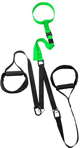eaglefit Schlingentrainer Sling Trainer Professional für Ihr Functional Training, Grün, 938-164-38