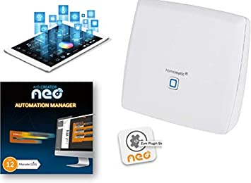 Homematic Smart Home Zentrale Ccu3 Pro Inklusive Automation Manager