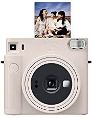 Fujifilm Instax SQUARE SQ1 Instant Film Camera, Chalk White