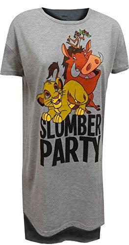 Disney Lion King Slumber Party Night Shirt for Women (Medium)