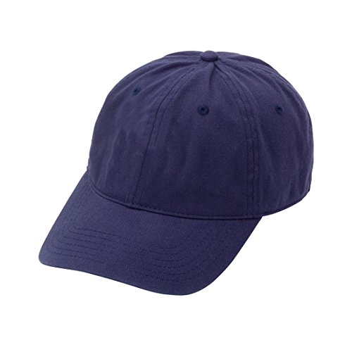 avy Blue Women's Soft Cotton Ball Cap With Adjustable Metal Clip ()
