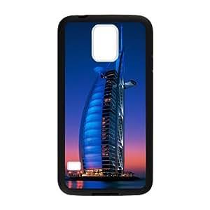 Custom Dubai Burj Al Arab Hotel Design Plastic Case for Samsung Galaxy S5