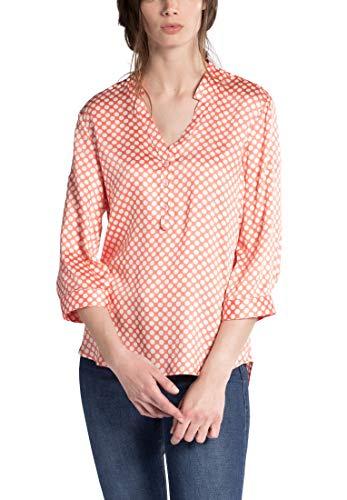 Classic Sleeve Blouse Printed 4 Eterna Arancione 3 Modern TqXxU