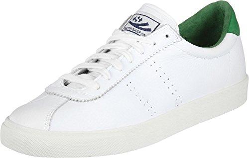 Superga 2843 Comfleau, Baskets Femme, Weiß, 41 EU Blanc