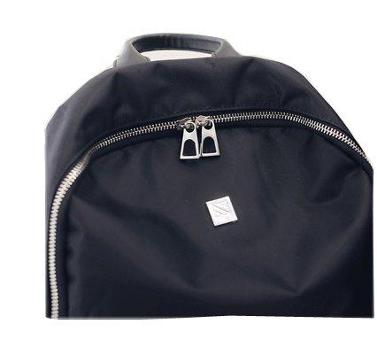 A&N , Damen Rucksackhandtasche Schwarz schwarz Large