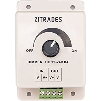 Dimmers Collection Here Hot Sale Black Led Dimmer Switch Dc 12v 24v 8a Adjustable Brightness Lamp Bulb Strip Driver Single Color Light Power Supply Co