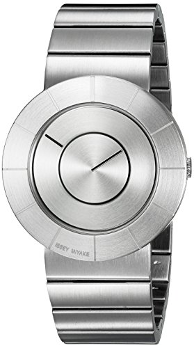 ISSEY MIYAKE Men's SILAN001 To Analog Display Quartz Silver Watch